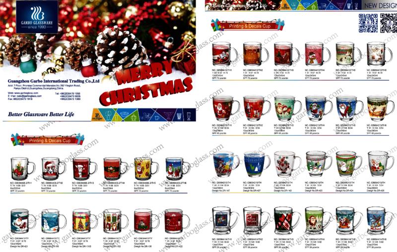 Christmas glassware wholesale