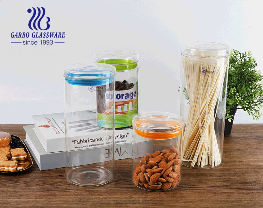 Garbo Weekly Promotions: Borosilicate glass storage jar