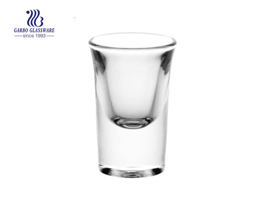 1oz transparnt shot glass