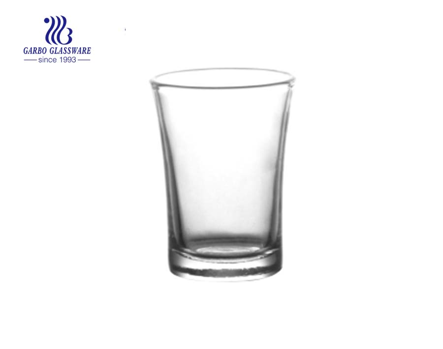 Low price 65ml shot glass