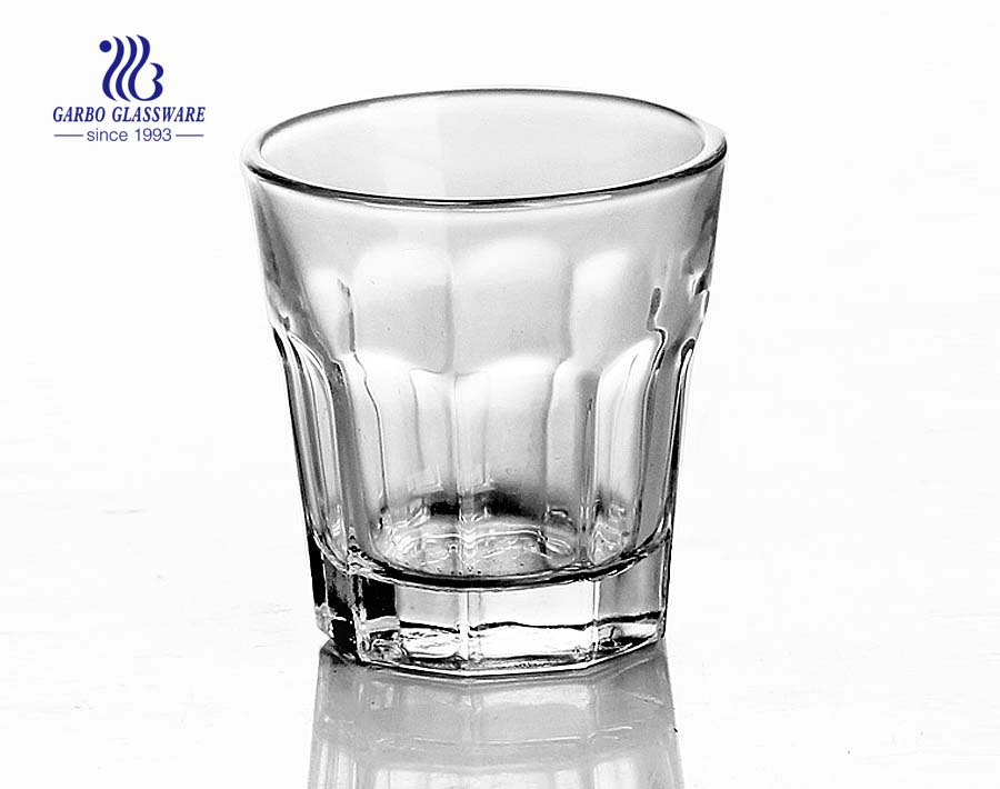 50ml clear shot glass made in China