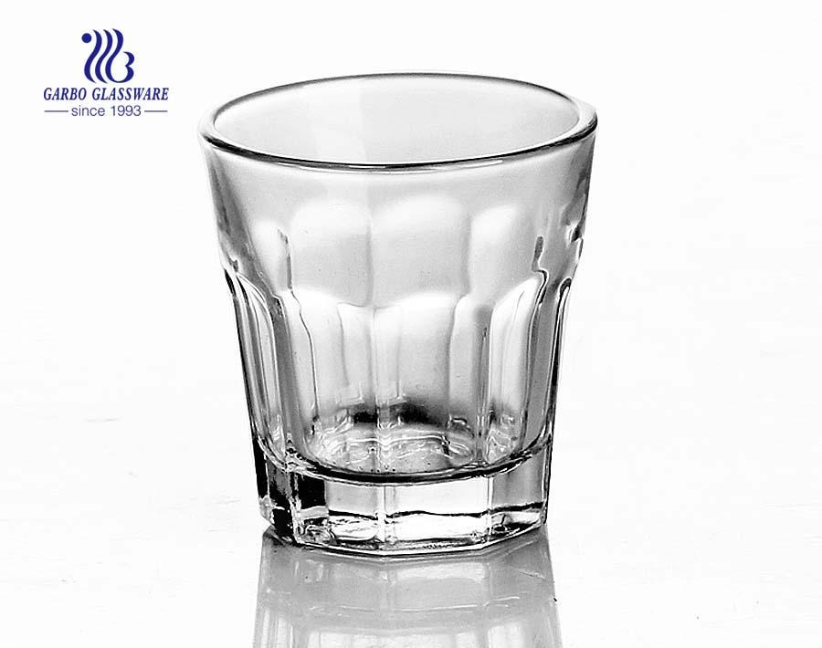 50 ml klares Schnapsglas hergestellt in China