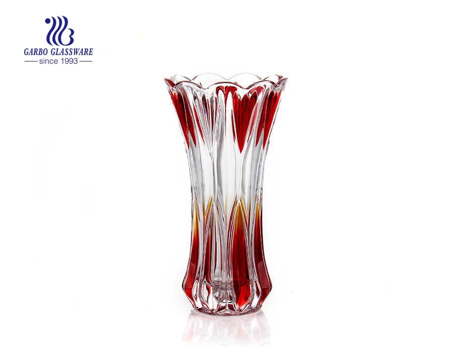high quality elegant glass vase for promotion