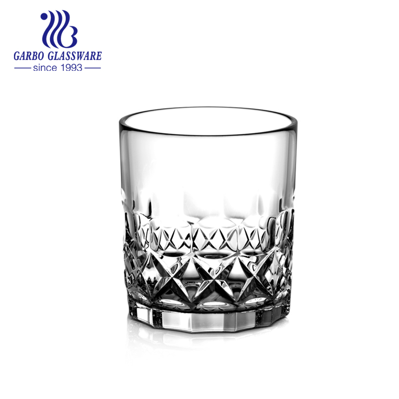 11 oz engraved whisky glass for wine drinking