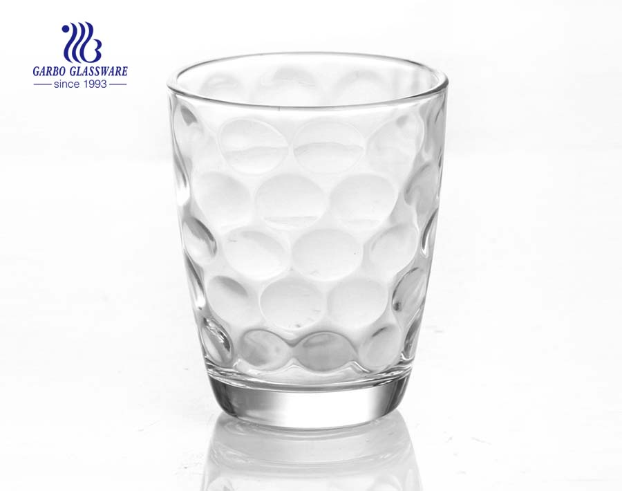 60ml wave design water drinking glass tumbler