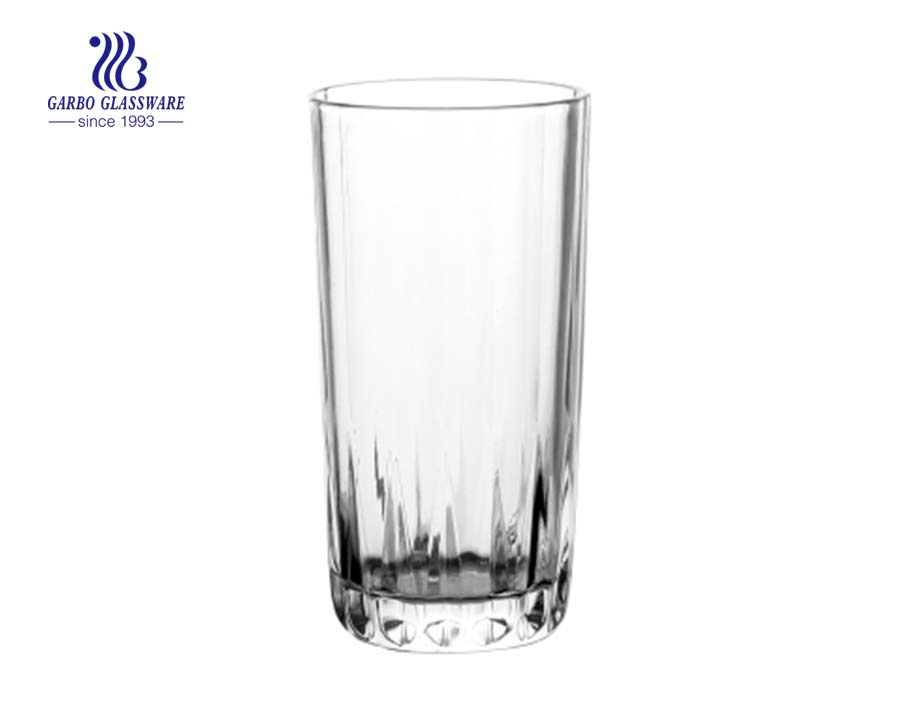11oz tall size juice drinking glass tumbler