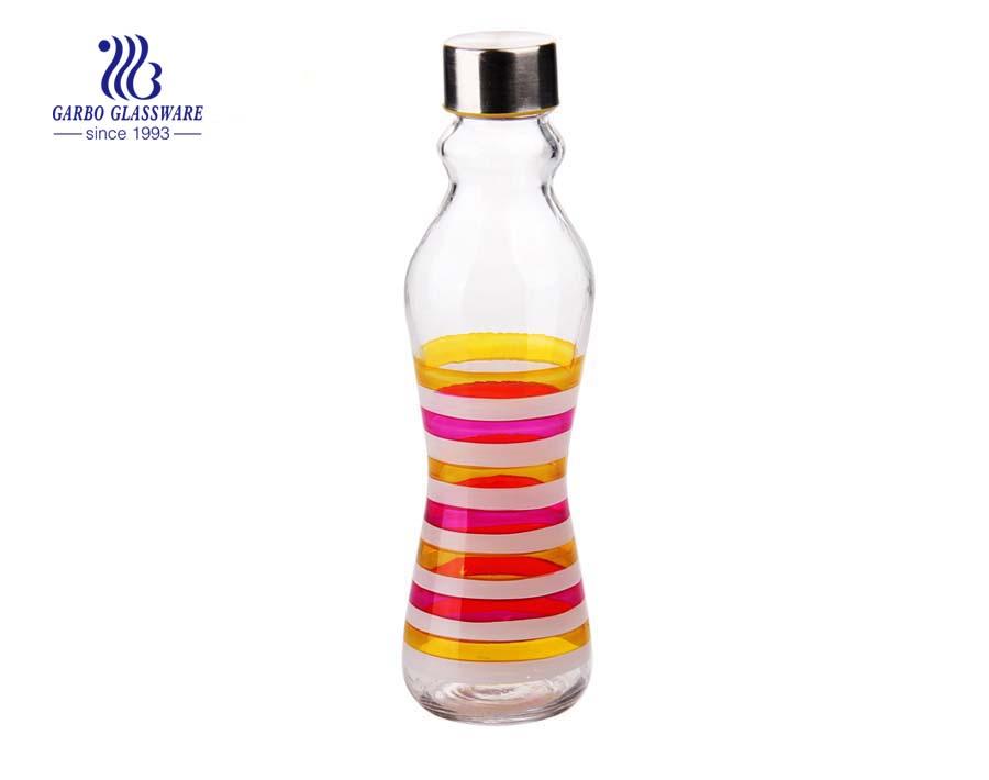 500ml Spray color glass bottle