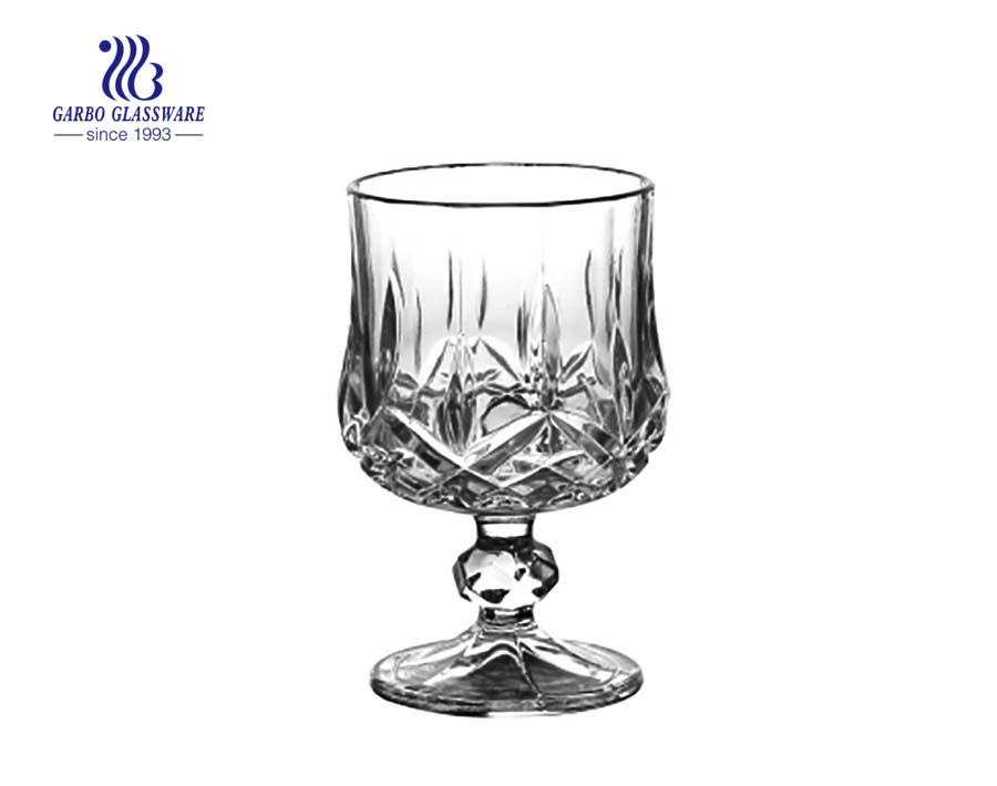 Hot Gift Glass Wine Drinking Cup with factory price