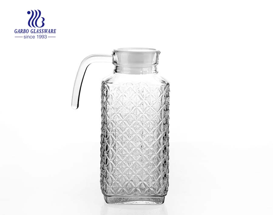 Customized glass pitcher supplier