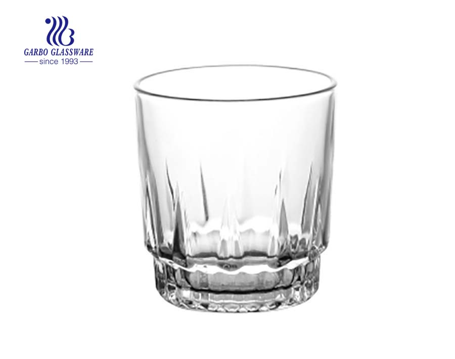 8109 9oz clear water drinking glass cup