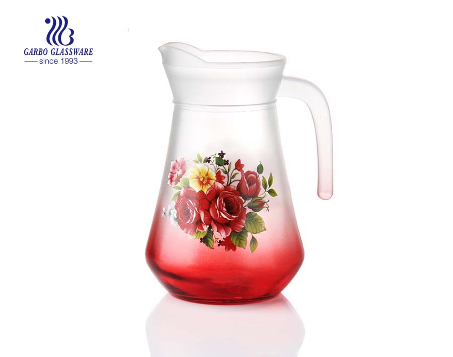 Wholesale glass pitcher in stock