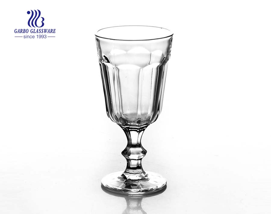 high quality engraved tumbler glass for desert