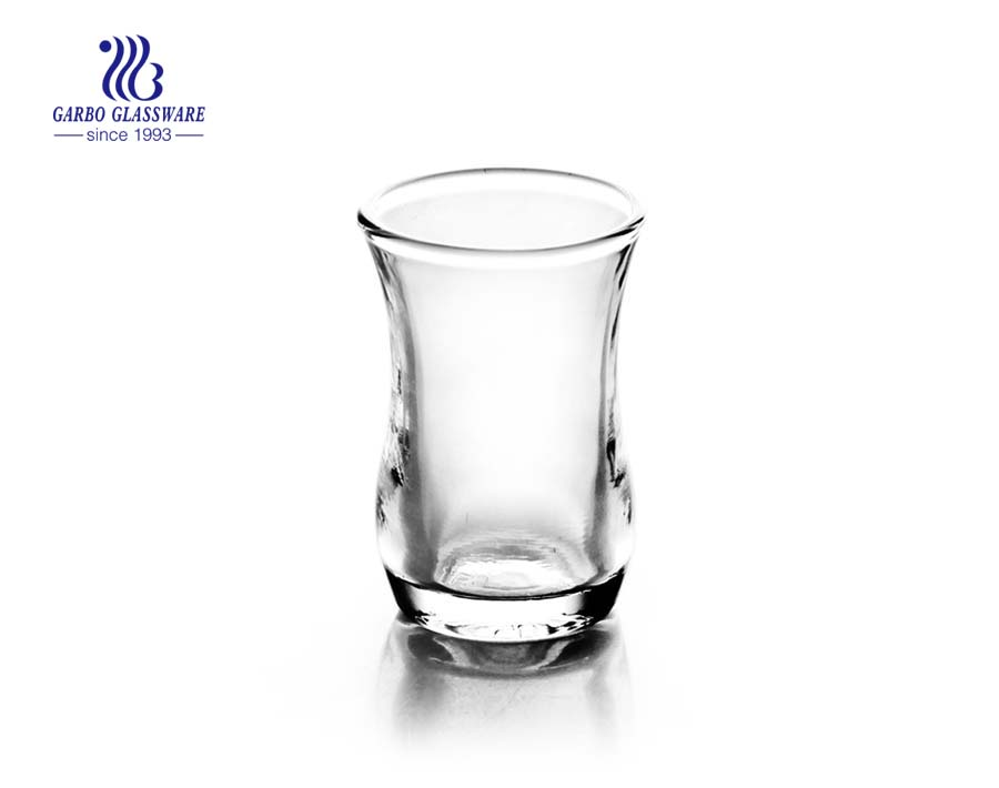 China 1.95oz transparent shot glass factory
