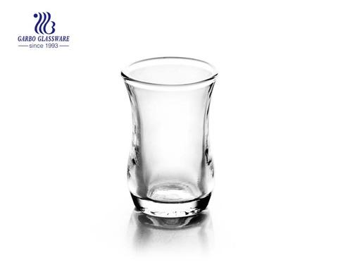 China vidro de tiro transparente 1.95oz fábrica