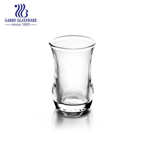 China 1.95oz transparent shot glass factory