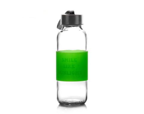 450ml transparente Sportglasflasche