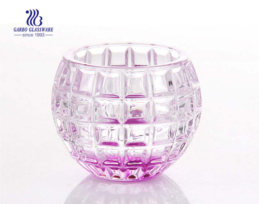 Decor Glass Candle Holder Made in China