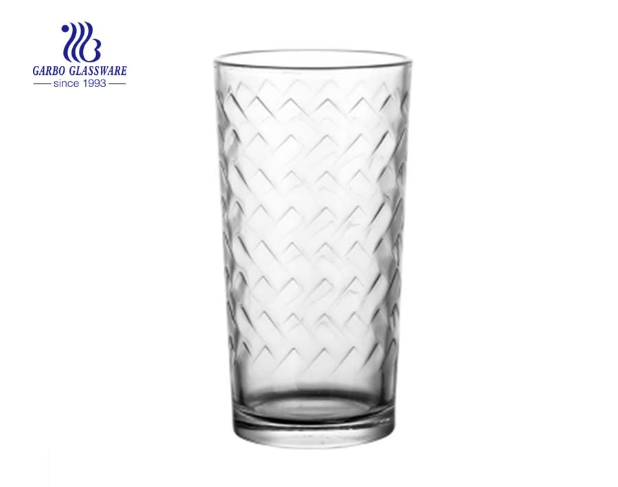 200ml inner grain water drinking glass cup