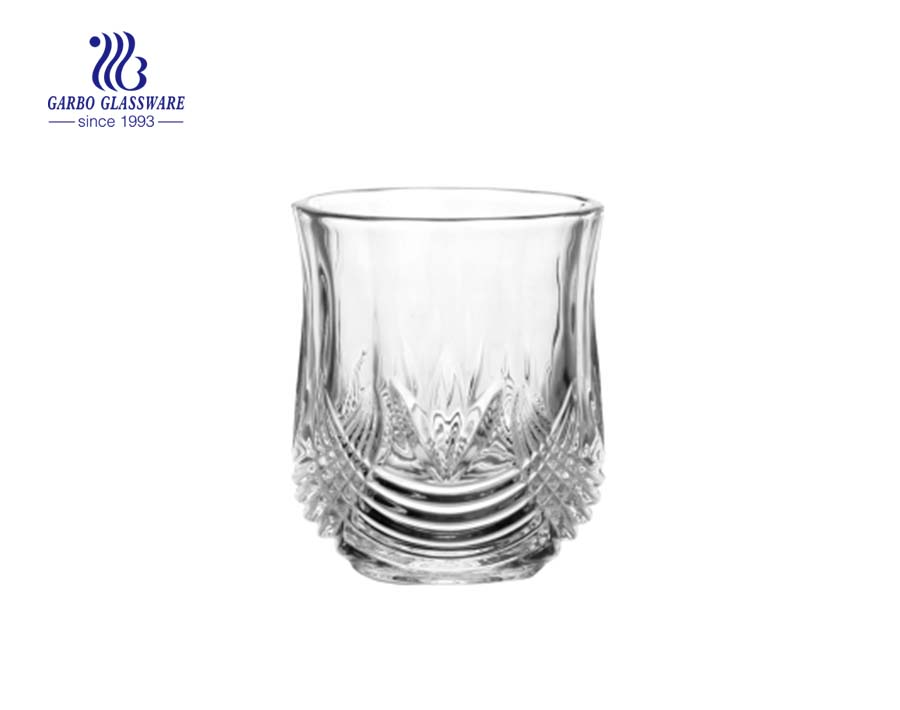 Diamant Steinglas Rotweinsaft Whisky Becher