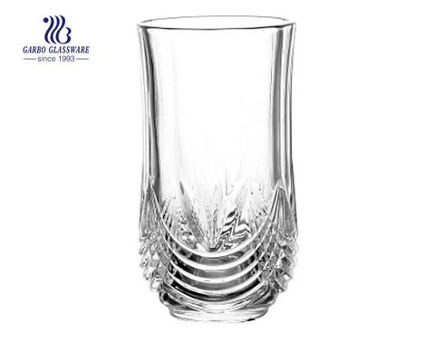 copo de uísque gravado para suco de laranja, bebendo com fornecedor da fábrica