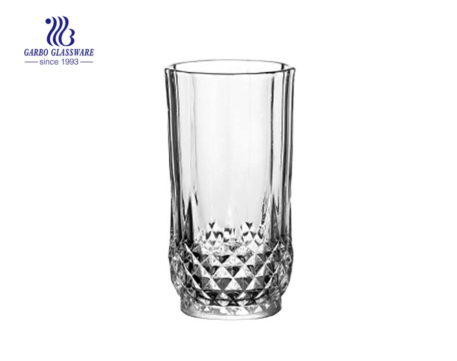 engraved whisky glass for orange juice drinking with factory supplier