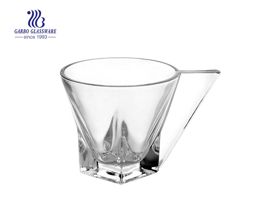 150ml high quality tea cup glass