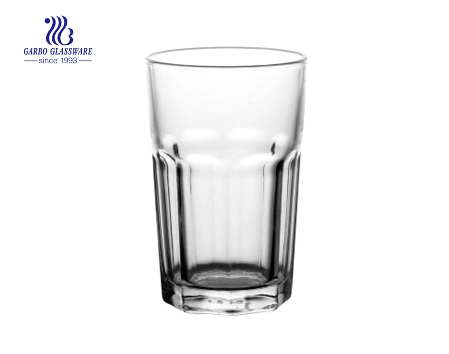 9oz stock rock glass tumbler for water drinking