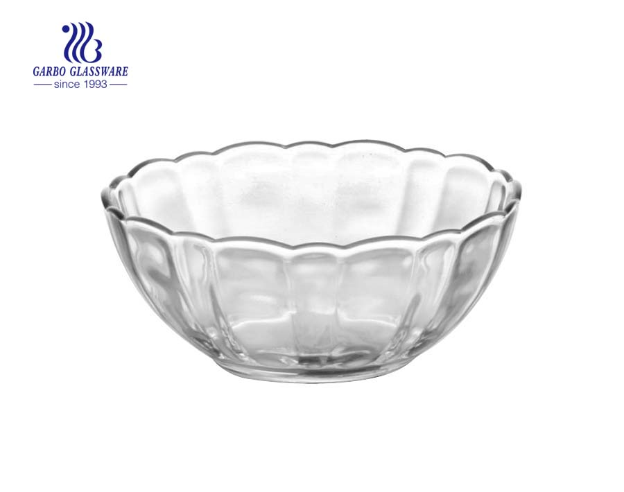 STOCK Lotus shape small glass cooking bowls