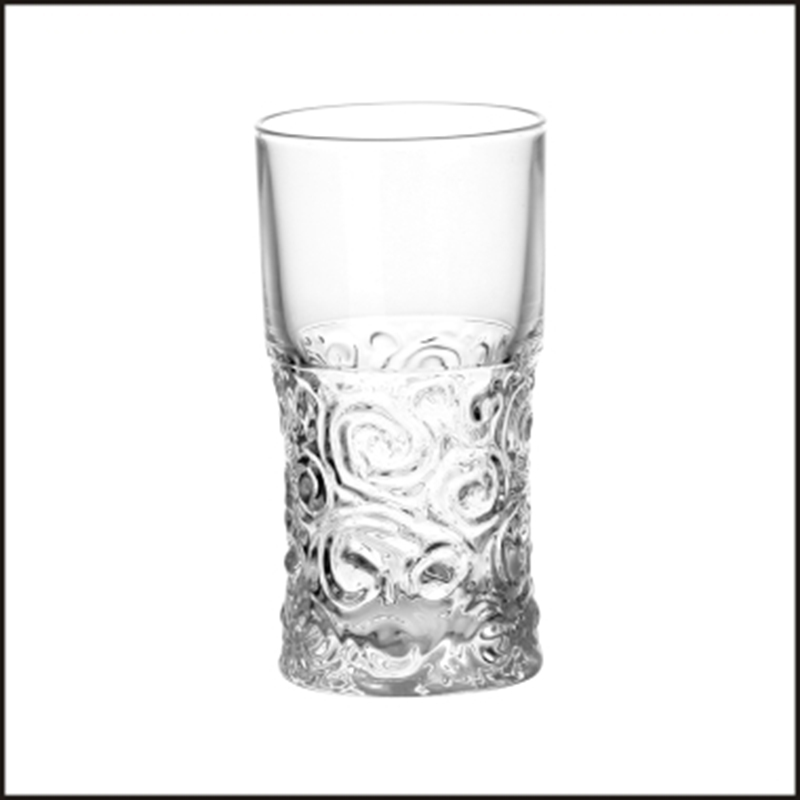 9oz long based glass beer whisky tumblers for wine drinking