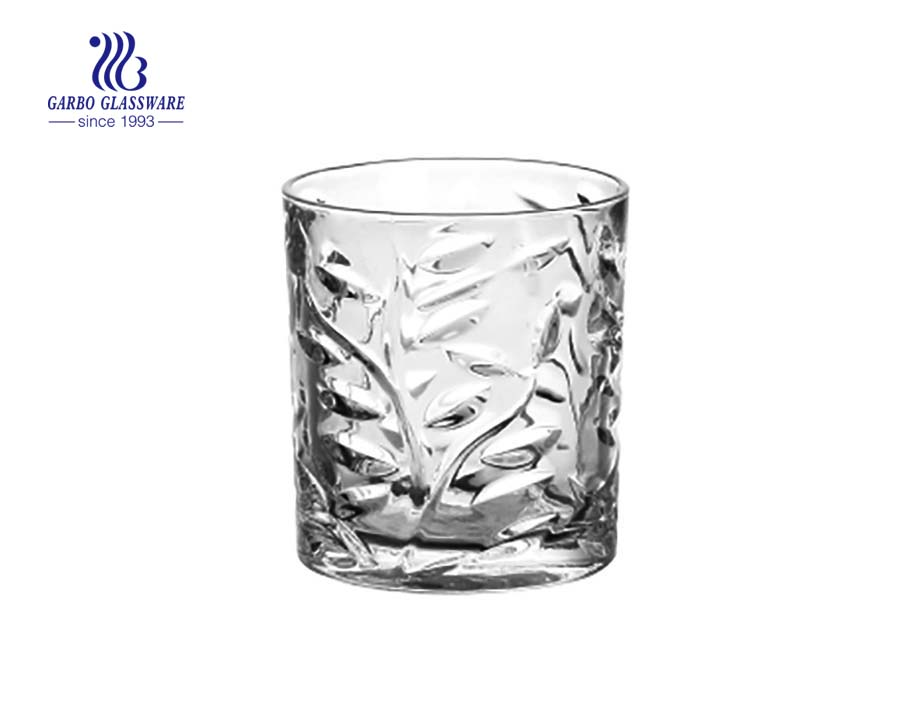 hot selling engraved glass juice tumblers for party using