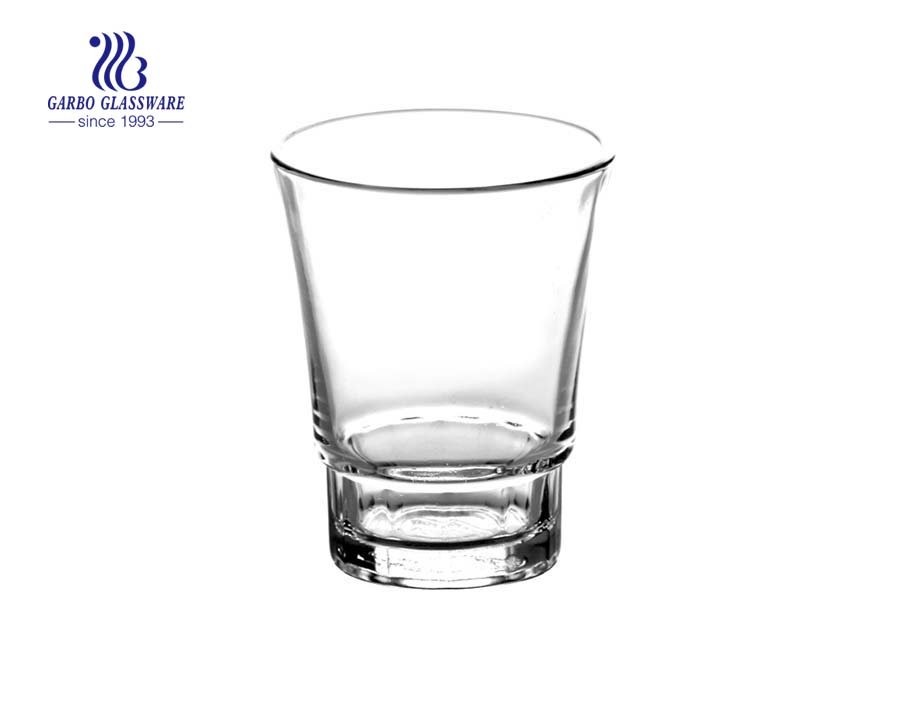 12oz hot sale stock glass tumbler for water drinking