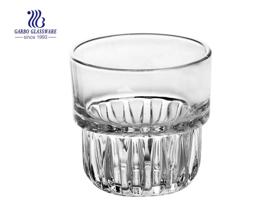 16oz egg shape water glass cup china glassware supplier