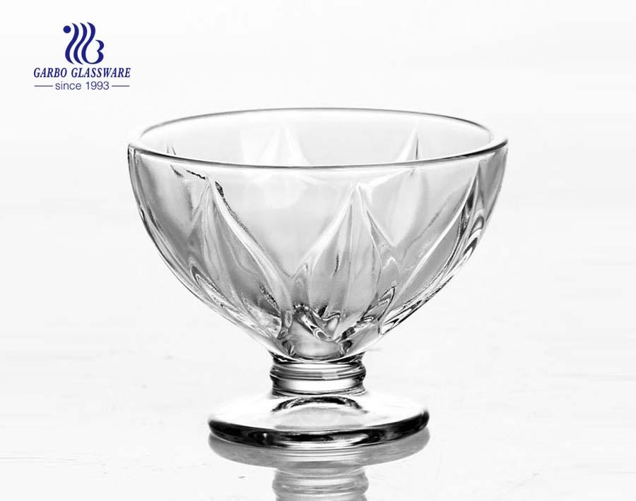 Diamon Design gebogenen Glas Eisschalen Preis