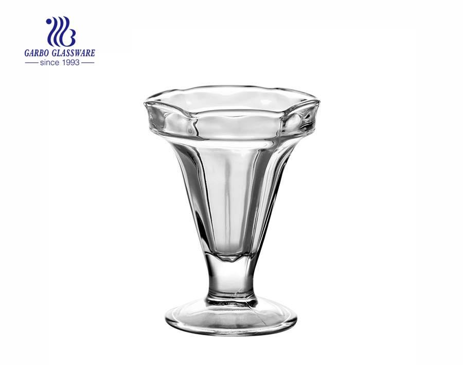 China manufacturer classic glass dessert cups