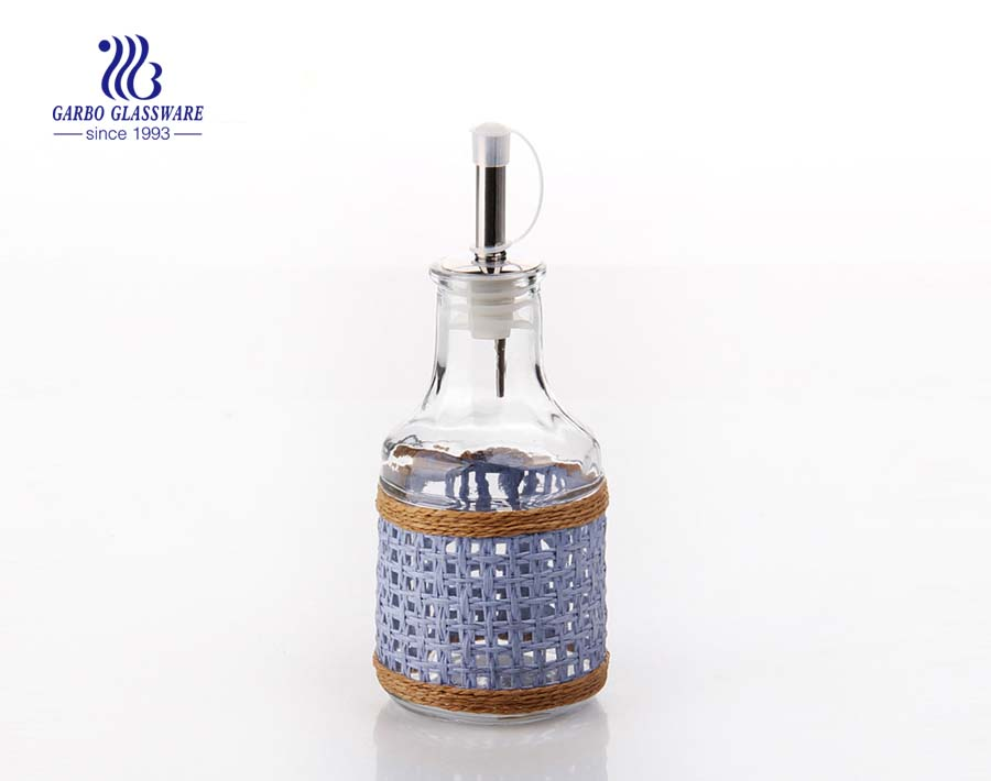 160ml Machine made glass oil bottle for home using