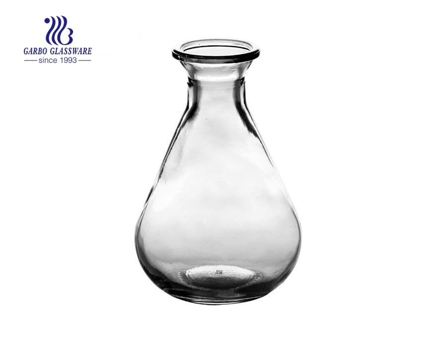120ml  Machine made lamp bulb shape glass bottle