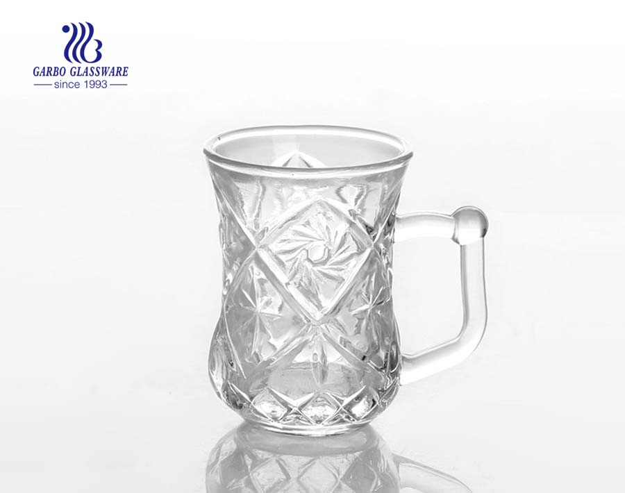 75ml moroccan tea glass cup