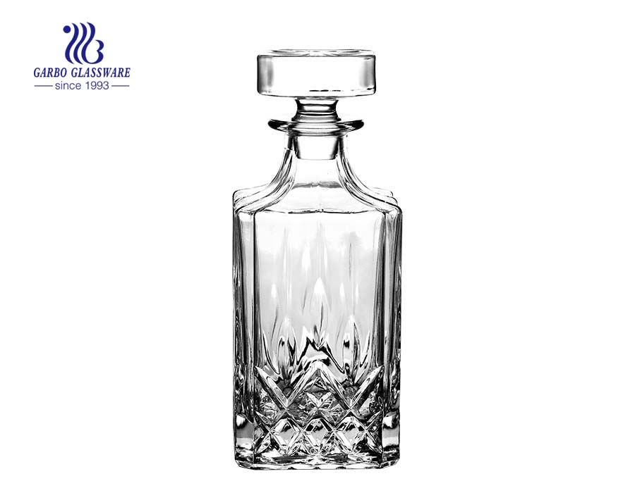 China wholesale individual glass wine decanter
