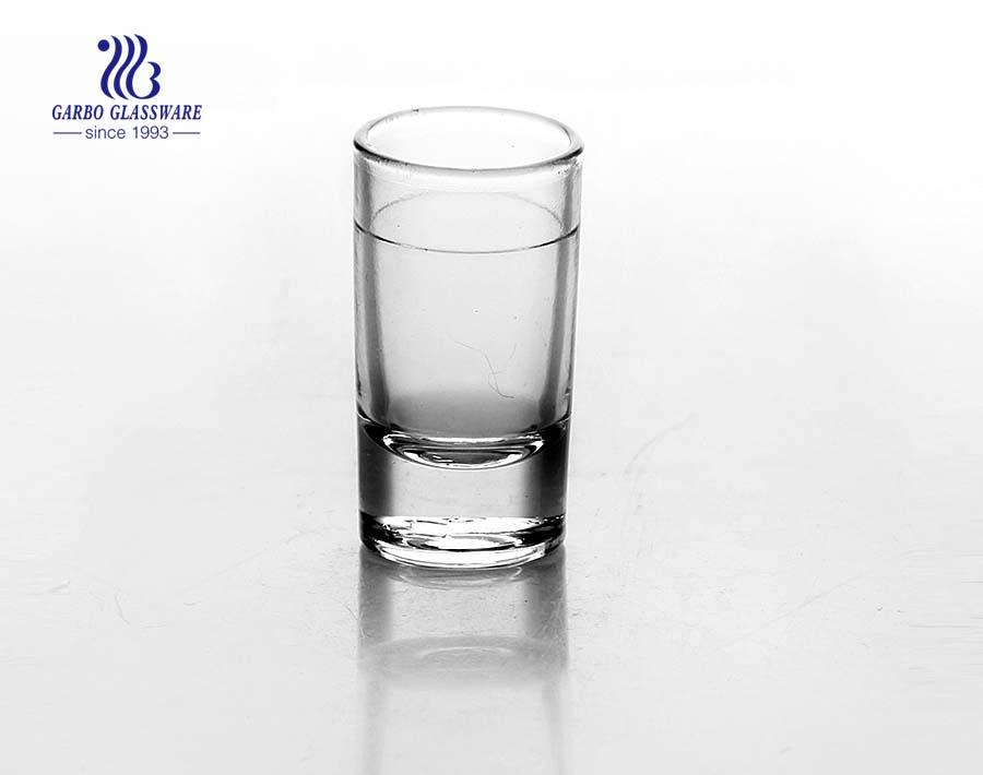 China 2.5oz clear shot glass supplier