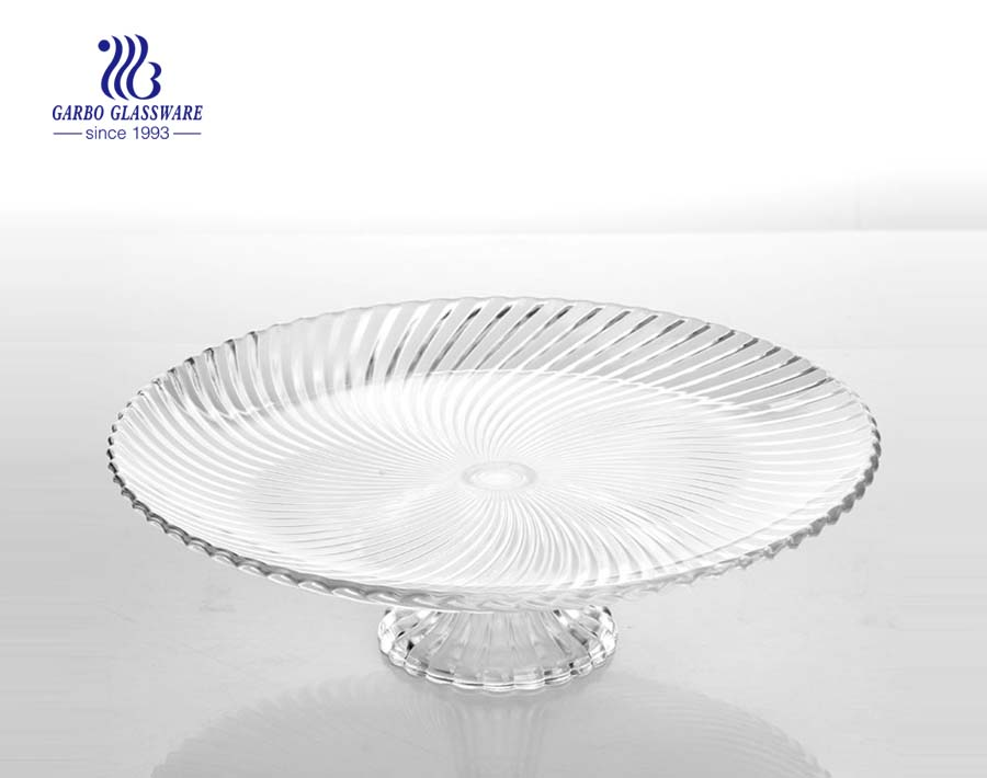 7.5-inch glass salad plates with apple designs glass salad plates wholesale suppliers
