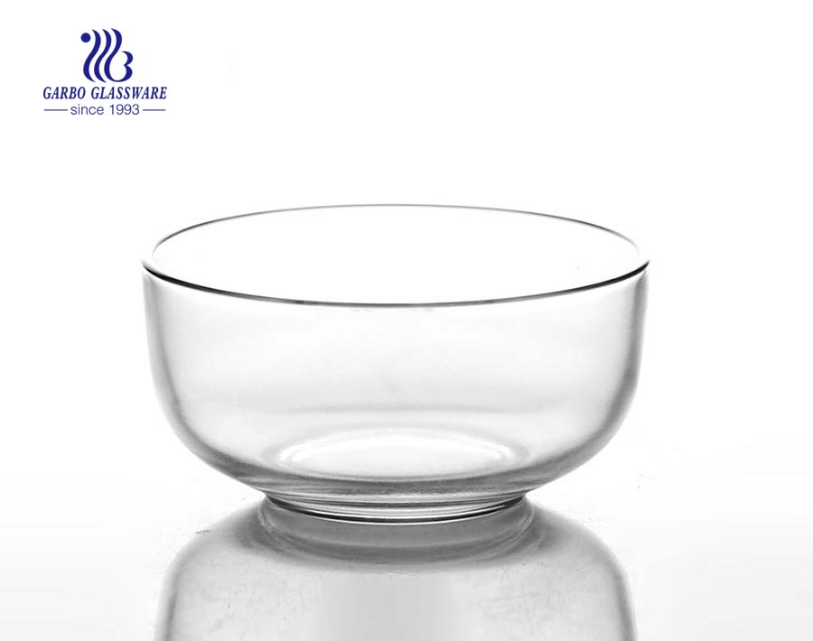 frosted 4.5 inch glass sweet bowls