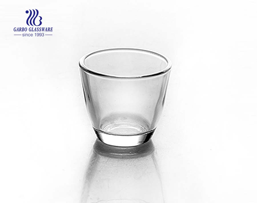 33ml Clear wholesale shot glass for wine drinking