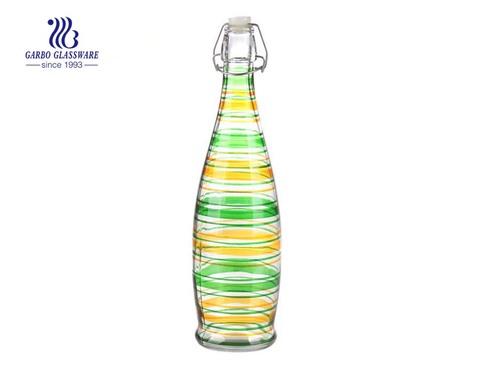 1L Máy chất lượng cao làm chai thủy tinh màu phun