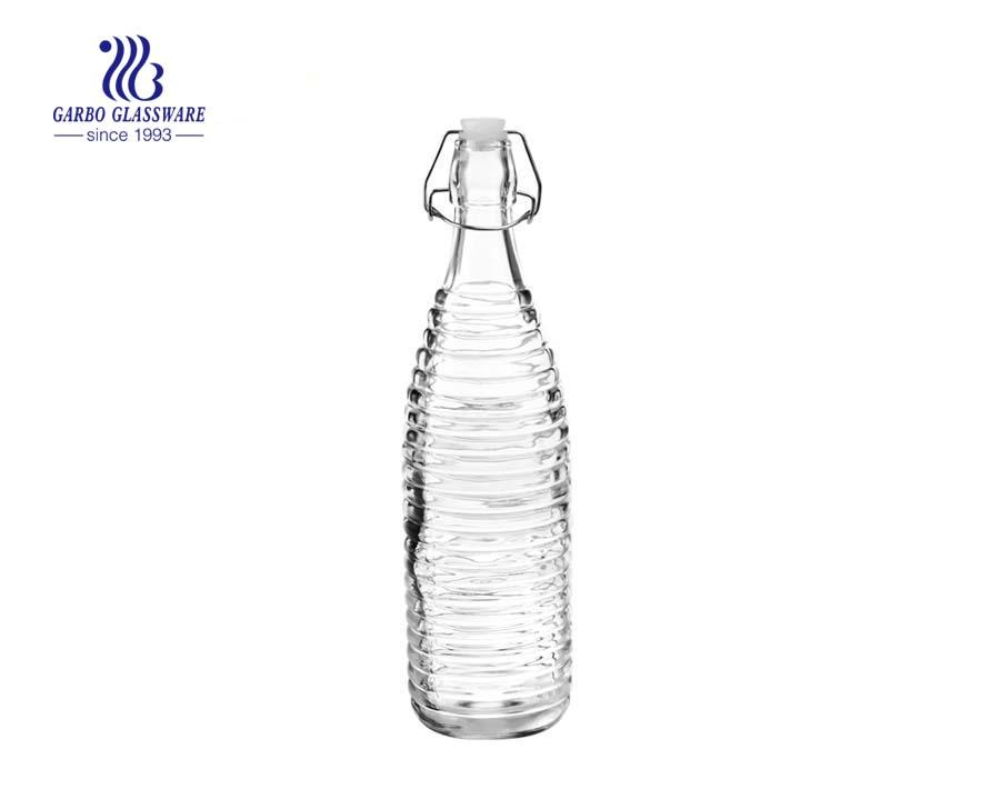 1L máquina de alta qualidade feita em spray cor garrafa de vidro