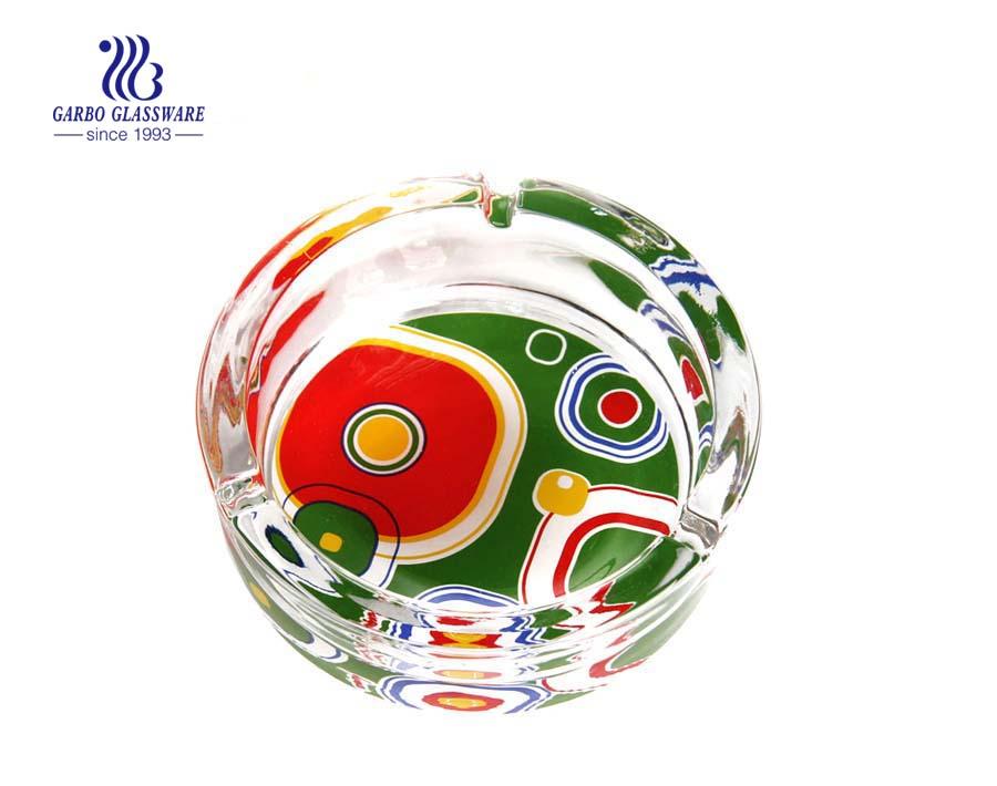 Farbglas Aschenbecher Lieferant