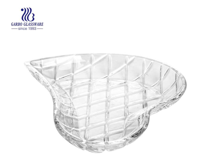7.2 inch round glass cake plate