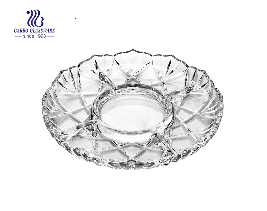 Glass Plate for Serving Fruit