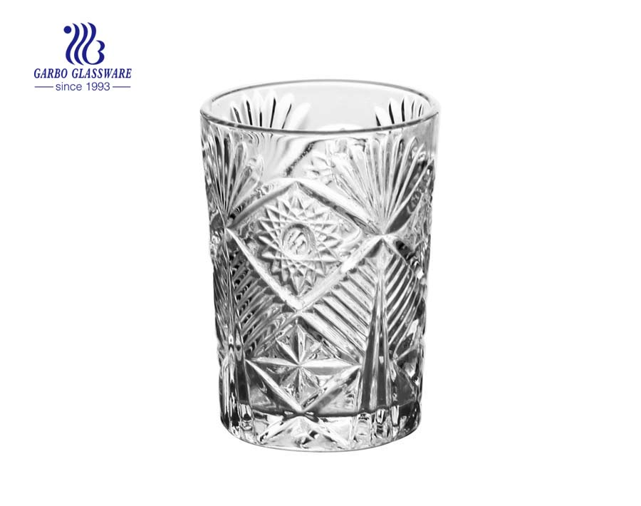 factory supplier glass coffee juice drinking tumblers