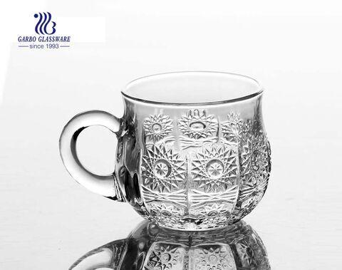 caneca de chá de vidro de alta qualidade