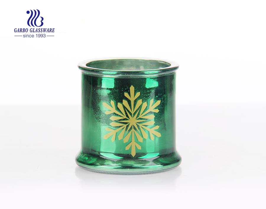 cheap price big glass candle holder